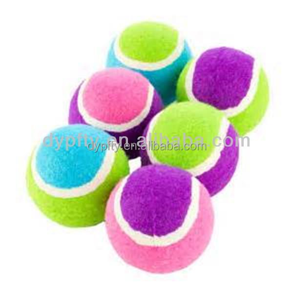 Custom Made Multi Color Tennis Balls With Logo Printing Buy Multi