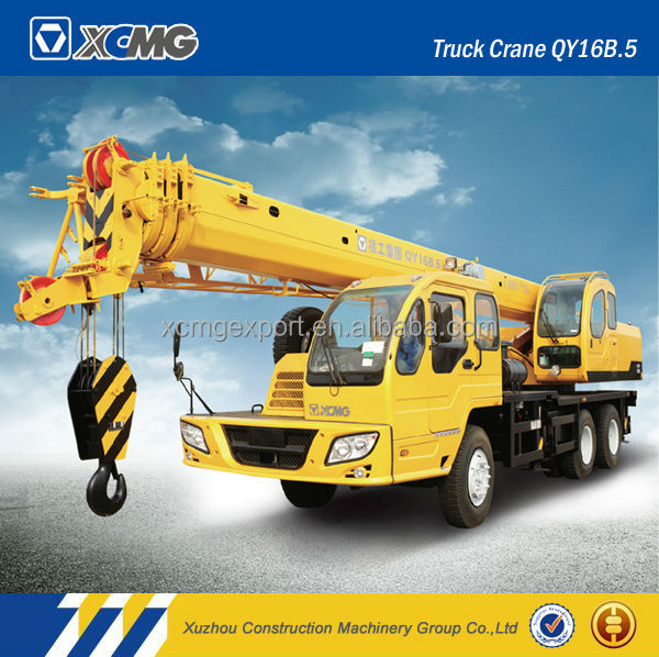 XCMG official manufacturer QY16B.5 16ton good quality of truck mounted crane 16 ton truck crane