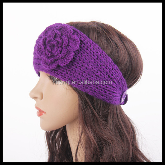 Head wrap Hair Accessories, Chunky Knit Winter Thermal Ear Warmer Headband