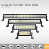 2017 hot sales 7 inch 36W to 51 inch 300W led light bar for offroad