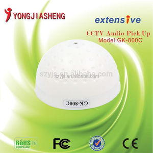 super sensitive microphone for CCTV camera audio professional manufacturer YJS-GK-800C