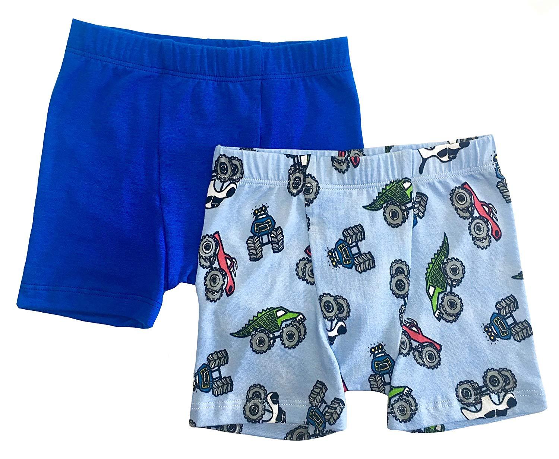 Esme Boys 2pcs Boxer Briefs Underwear Little Boys: XS, S, M /& Big Boys: L, XL