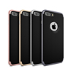 For Iphone 7 Case TPU + PC Hybrid Armor Back Cover Silicone phone Case With Frame