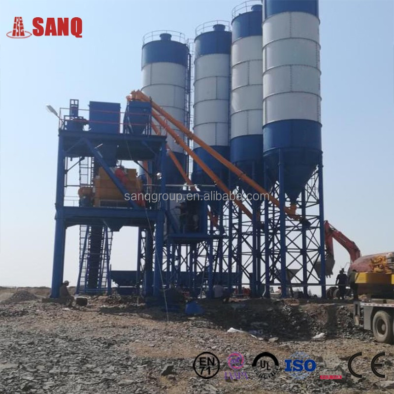 Ready Mixed Concrete Batching Plant Hzs120 In Low Price