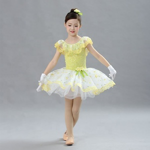 ballet lyrical dress girls dance stage show costumes