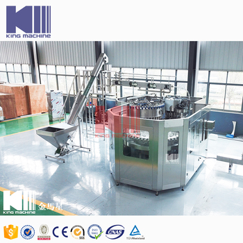 Small specification simple bottling water machine