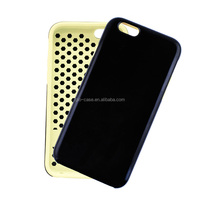 TPU and PC Phone Case Blank Covers for iPhone 6