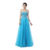 Free Shipping A Line Custom Made Sweetheart Sleeveless Floor Length Tulle Zipper Lace-up Backless Women Prom Dress