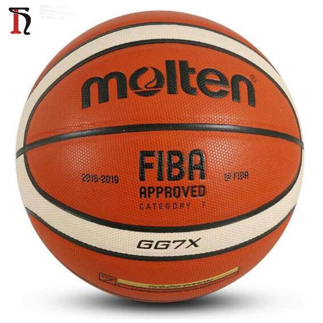 Балон Баскетбол расплавленный баске официальный размер и вес расплавленный Баскетбол GG7X GG7 GMX7 GF7 Баскетбол мяч Размер 7
