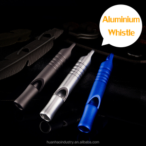 Aluminium Survival Whistle 115 dB High Frequency Training Children Outdoor Tools 3 Colors 1 Pipe High Quality EDC Whistle