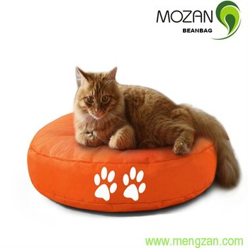 Marvelous Round Cat Scratcher Bean Bag Little Cat Mat Design Inspirations
