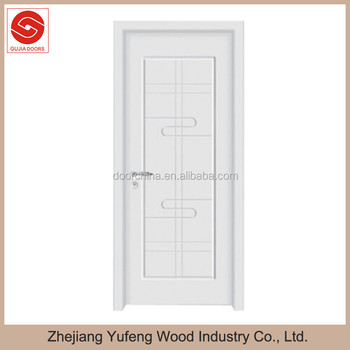 Wooden Door Interior Doors New Design Veneer Painting Door White Color