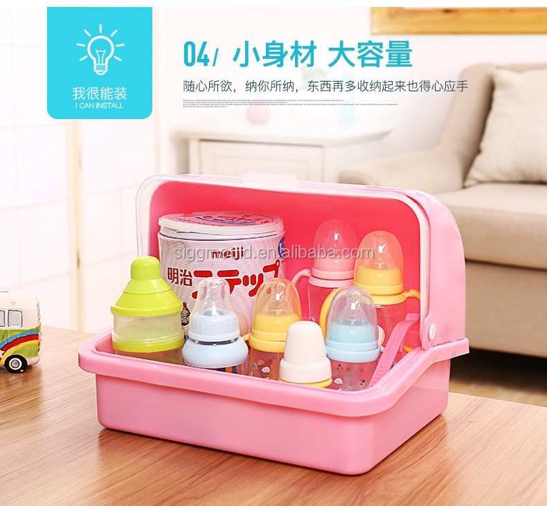 china wholesale storage box for protecting baby feeding bottle