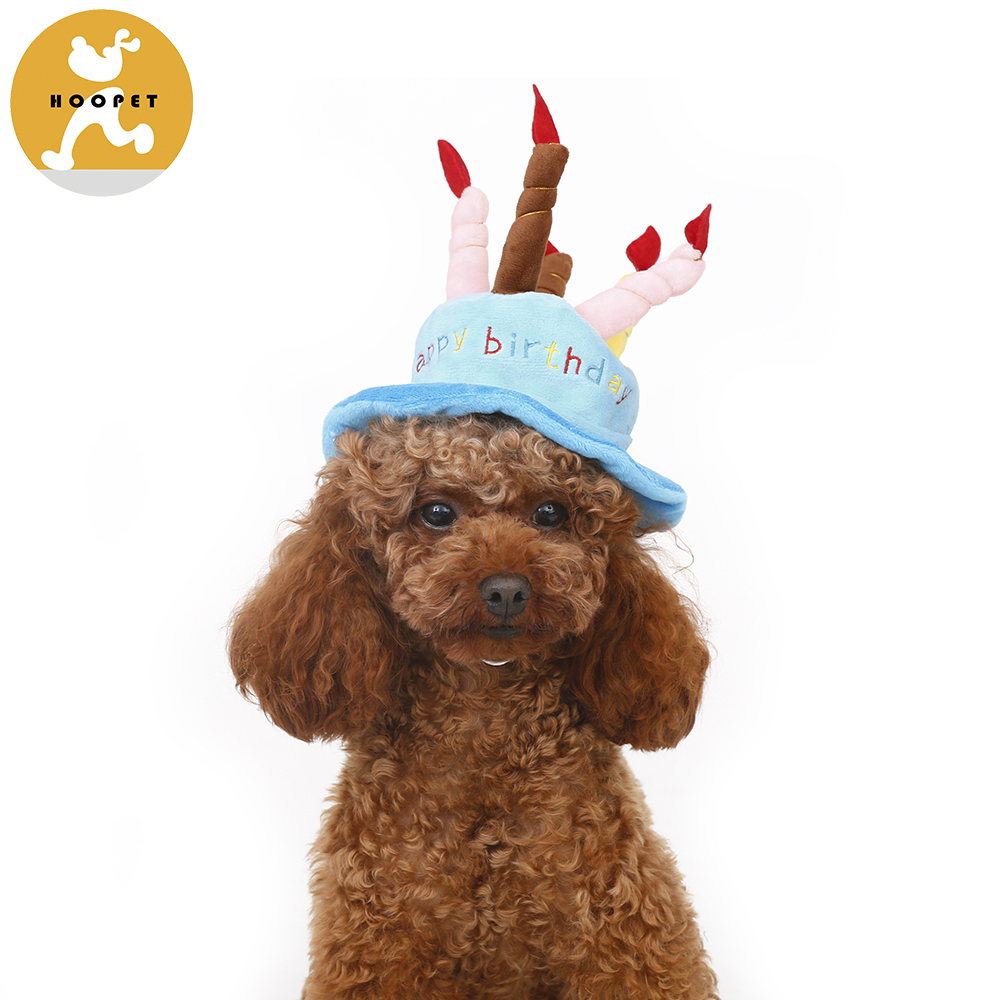 Good Quality Fashion Funny Cake Shaped Pet Birthday Hat