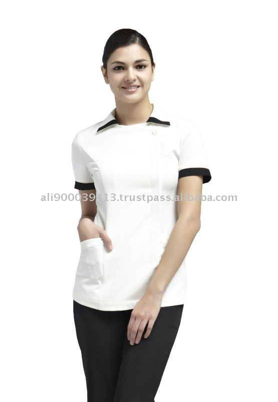 Spa uniform yaejw0023 buy hotel spa uniform ladies spa for Spa uniform alibaba