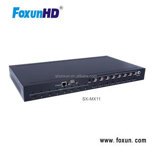 Best Seller Video Audio A/V HDMI Matrix AV Switch 8X8 Support RS232, IP, Web Control, Control 4