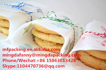 packing paper for cookie ,pe coated paper used as wrapping paper for kitchen use