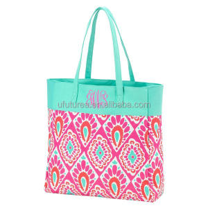 New Design Monogram Beachy Keen Beach Tote Bags