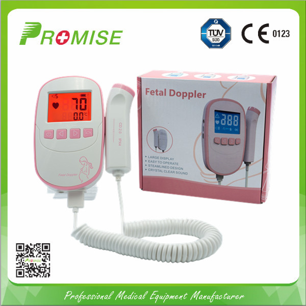 Professional waterproof fetal doppler ultrasonic fetal doppler,fetal doppler fda