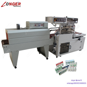 Factory Price Fully Automatic Tray Shrink Wrapping Machine for Bottles