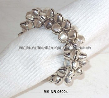 Metal Ghungroo Christmas Napkin Ring Buy Napkin Rings For
