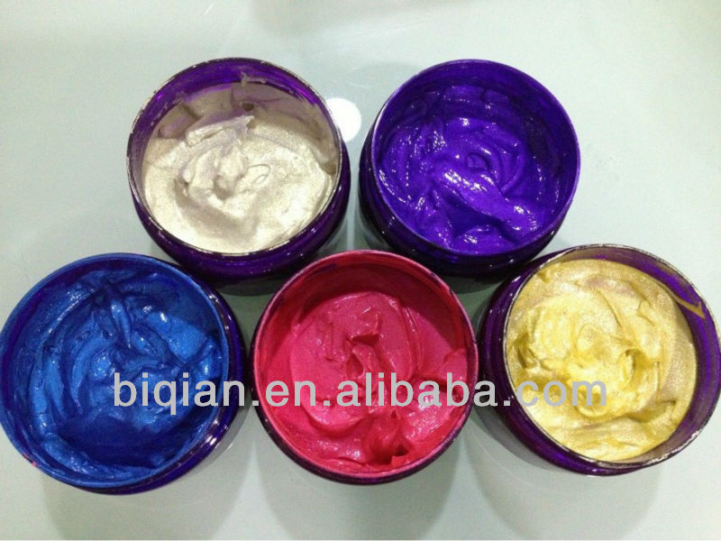 2013 New Product Glitter Color Pastehair Dye Gelsemi Permanent