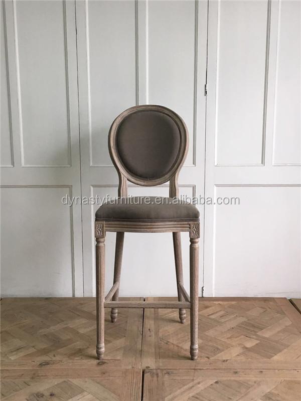 Respaldo Alto de madera diseño de muebles comedor silla alta-Sillas ...