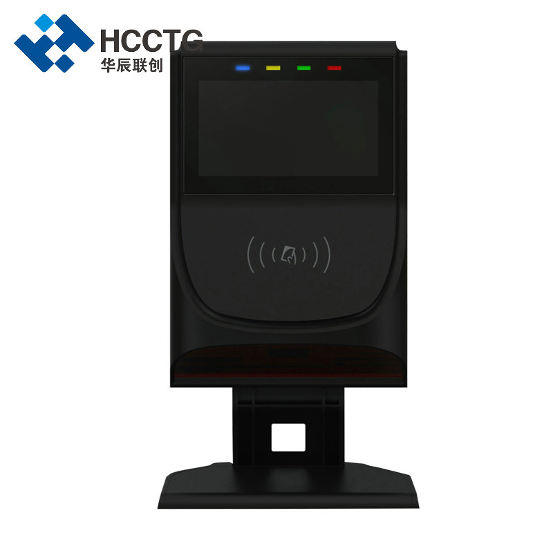 Linux RFID Bus Automatic Contactless Payment Terminal For Transportation HT80-A2