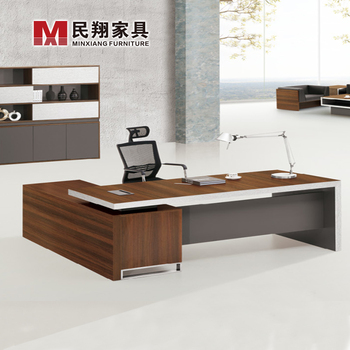 European Style Boss Tableantique Director Desklarge Office Table