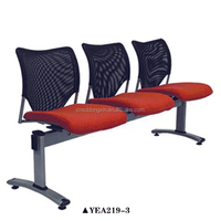 YEA219-3 Fabric chair and 3-seating waiting chair Waiting room furniture