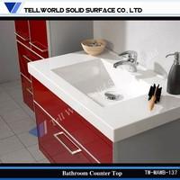 Bathroom Vanity Tops Design/White Marble Bathroom Counter/Stone Bathroom Tops