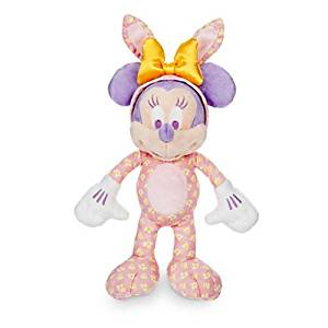 Minnie Mouse Plush Easter Bunny - 9'' - Walt Disney World