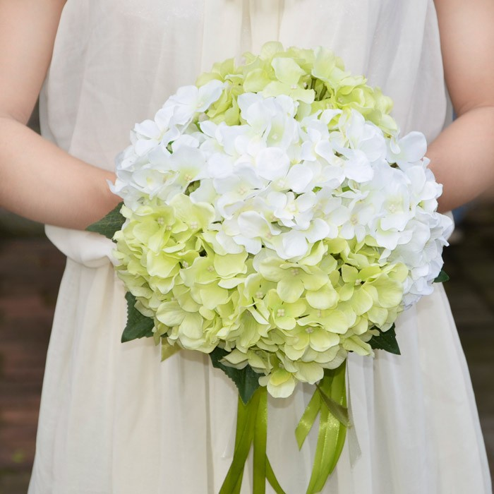 Wedding Decor Rose / Hydrangea Decorative Artificial Flower Ball ...