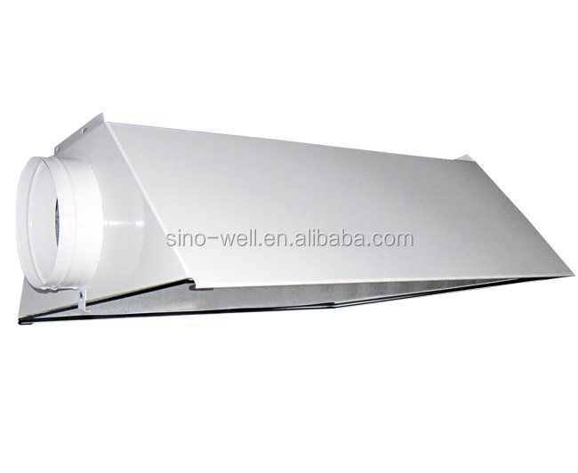 greenhouse air cooled double ended reflector for grow lamp