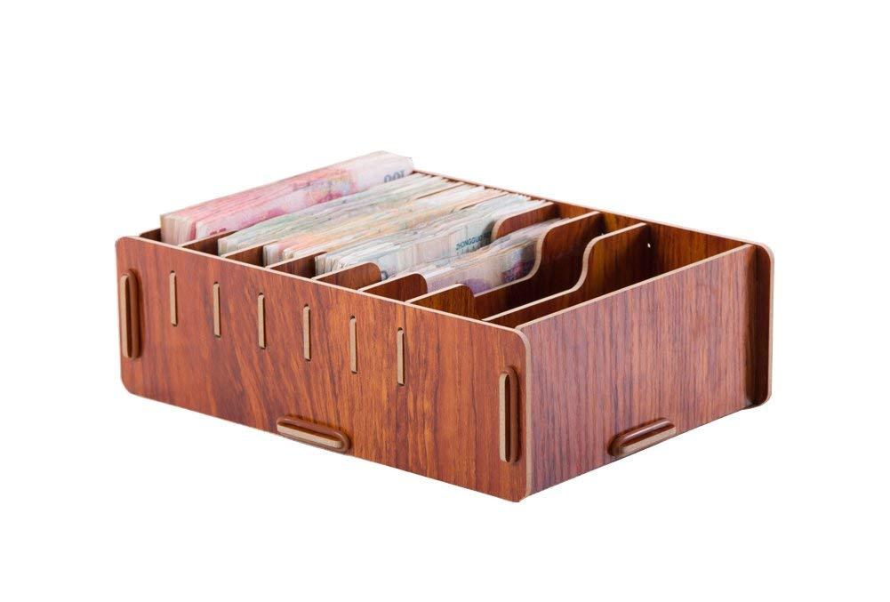 Get Quotations Yqptcn Office Desktop Organizer Supplies Large Capacity Money Storage Box Holder Cash