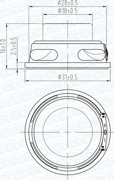 Cheap 8 Ohm 3 Watt Mini Speaker For Sale