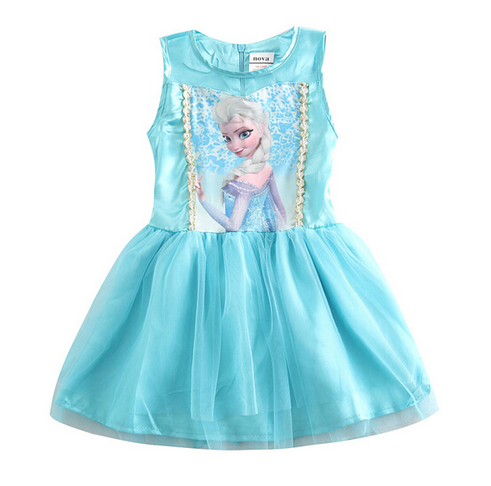 2-7T/summer girls dresses kids clothes little girl party lace baby tutu infant princess dress korean children clothing BC1299