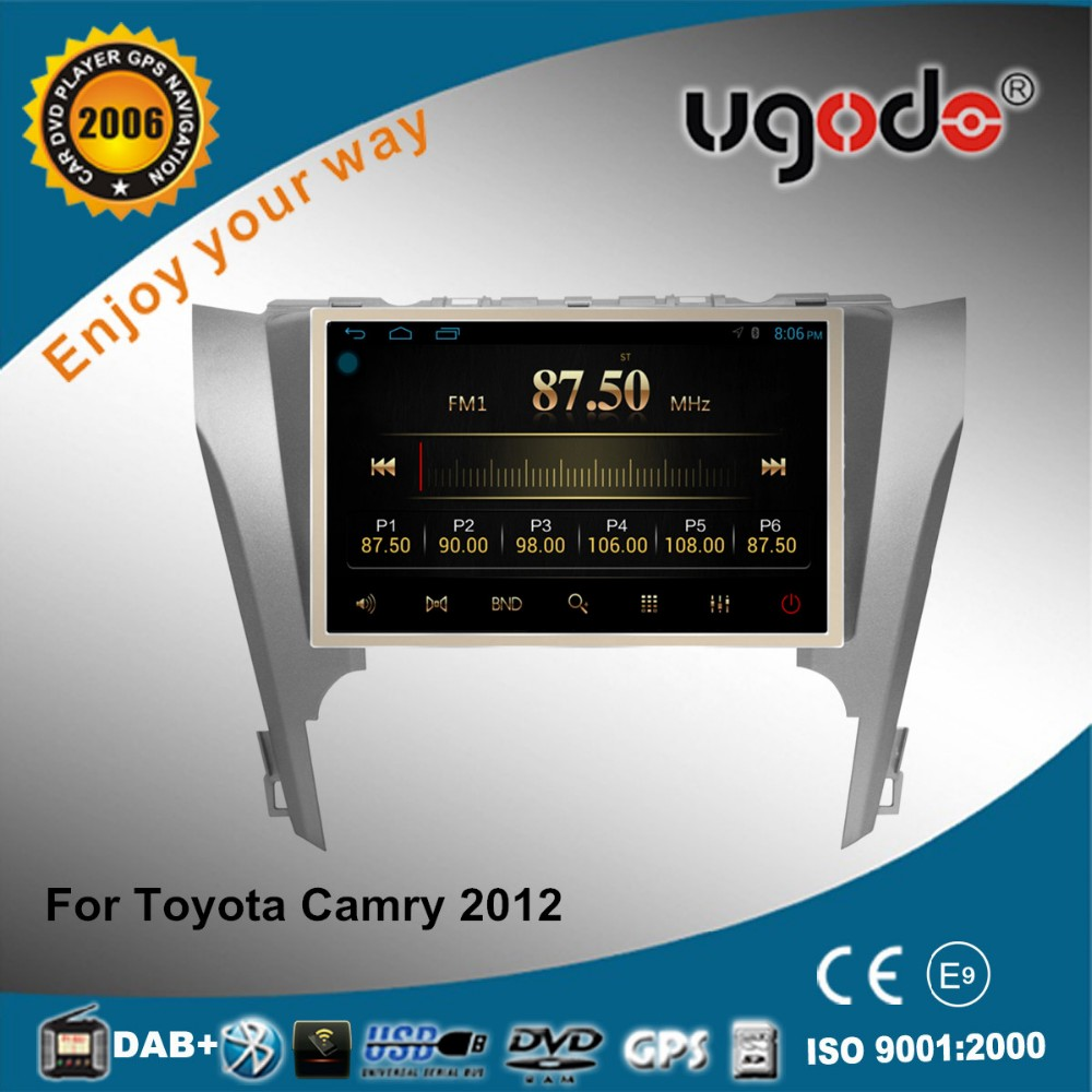new product HD touch screen 2 din car gps for Toyota Camry 2012