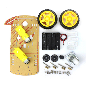 Robot Smart Car 2WD Motor Chassis /Tracing Car Box Kit Speed Encoder with Battery Box for UNO Diy Kit