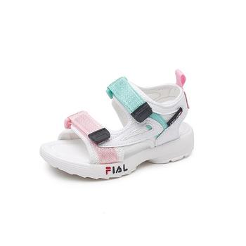 fbcd002b5db505 2018 summer new children s shoes wholesale children s sandals boys and girls  fashion breathable weave belt sandal