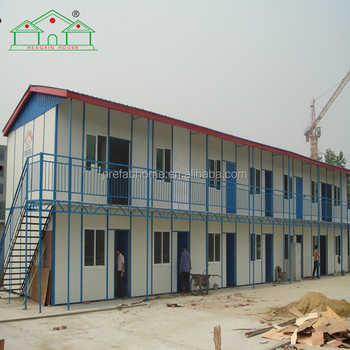 Low cost steel structure frame prefabricated house building