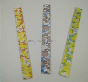 Fabric Wrap Slap Bracelet for Hair Slap Bracelet Wristbands Cheap Logo Design Sports Wrist Band