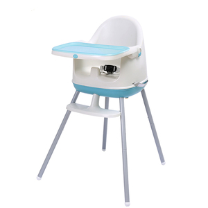 Clacla Baby Highchairs 3 in 1 Kids Feeding High Chairs Infant Sitting Chair Booster Chairs EN 14988 Certificate Approval