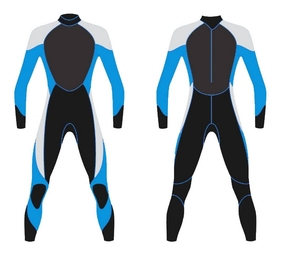 3.0mm neoprene wetsuit scuba diving equipment