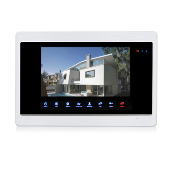 Smart Home Touch Screen Video Door Entry Systemvideo Intercom For