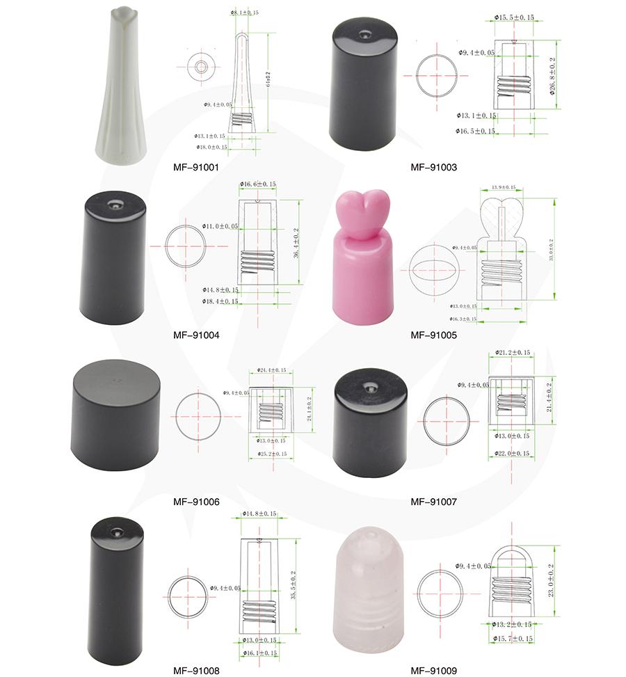 Personalizado Vacío Pequeño Mini Licor 8 Ml Botella De Esmalte De ...