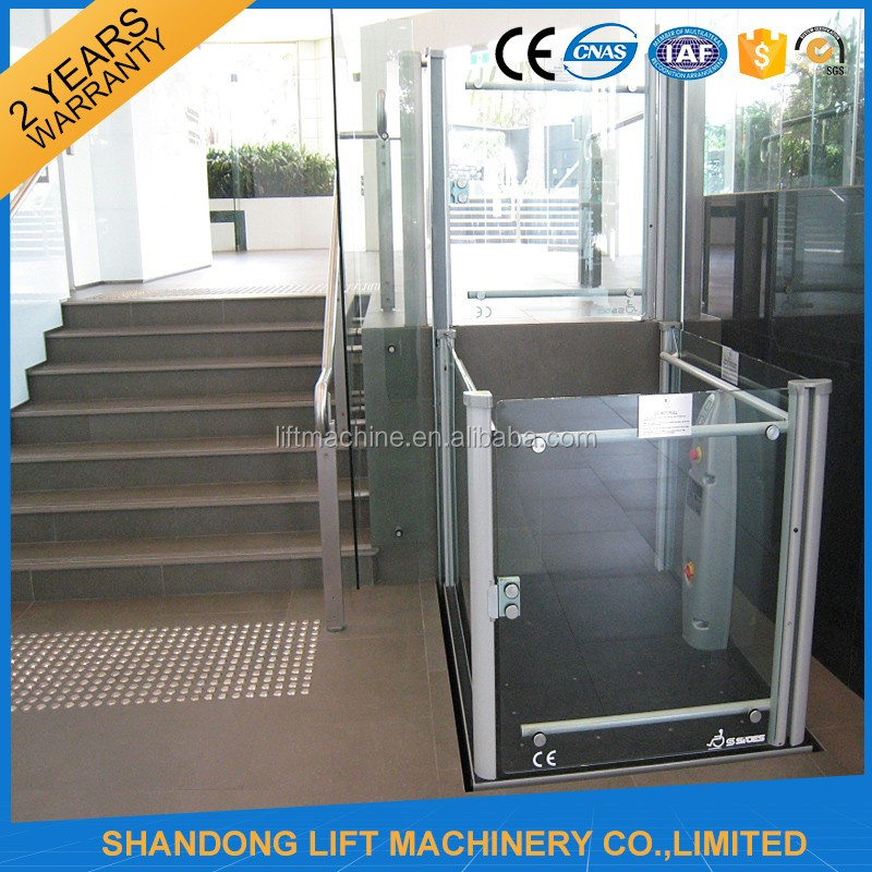 1 8m wheelchair lift home use small elevator buy home for Elevator for house