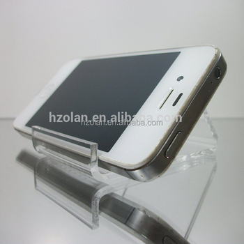 Transparent Baseball Card Display Clear Acrylic Cell Phone Holder Buy Phone Holdercell Phone Holderacrylic Cell Phone Holder Product On
