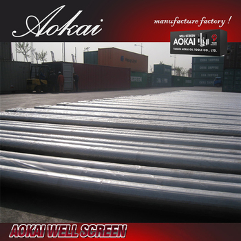 stainless steel china factory johnson screens SS316 with ISO9001