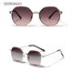 China Sunglass Manufacturers Rimless Fashion Polarized Men Women Sunglasses